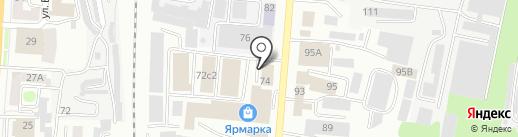 СпецМастер на карте Саранска