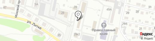 Уголовно-исполнительная инспекция УФСИН России по Пензенской области на карте Заречного
