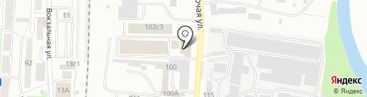 Магазин штор и швейной фурнитуры на карте Саранска