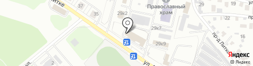 Porta M на карте Заречного