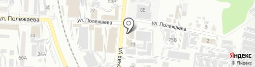 ЖЭК на карте Саранска