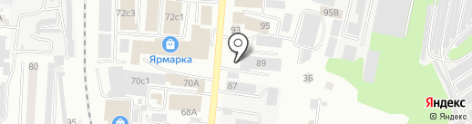Новый Квартал на карте Саранска
