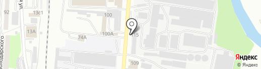 Ламзурь на карте Саранска