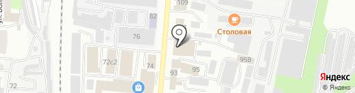 Оптимус на карте Саранска
