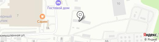 Малинка на карте Саранска