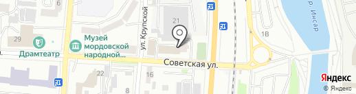 ИФНС на карте Саранска