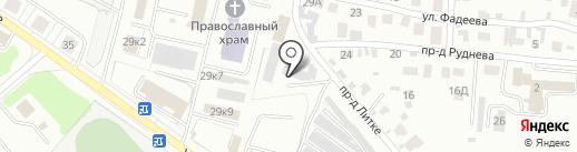 Мебельная компания на карте Заречного