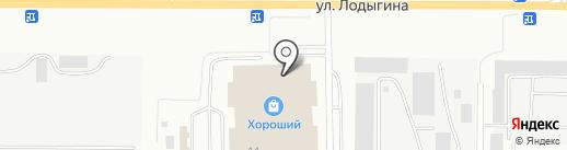 MD студия мебели на карте Саранска