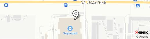 Магазин электрики и теплых полов на карте Саранска