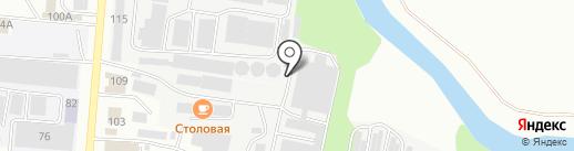 Сварка 13 на карте Саранска