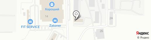 РIT-STOP на карте Саранска