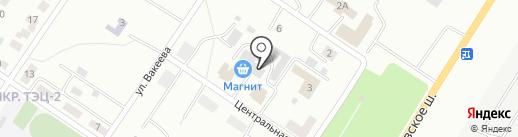 Банкомат, КС Банк, ПАО на карте Саранска