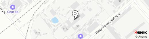 ДамасК на карте Заречного