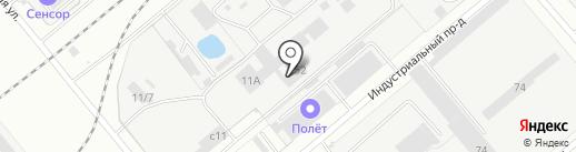 ТМ на карте Заречного