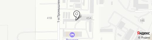ПМК-408 на карте Саранска