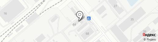 Ремонтно-строительный комбинат, МП на карте Заречного
