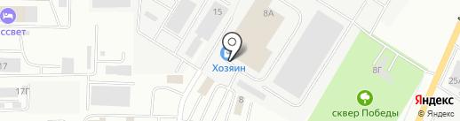Дуэт на карте Саранска