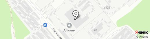 Промэлектромонтаж на карте Заречного