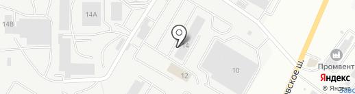 МЕБЕЛЬ-13 на карте Саранска