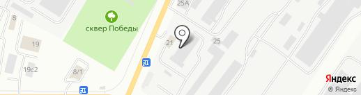 Стройматериалы на карте Саранска