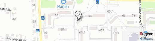 Winner-servis на карте Саранска