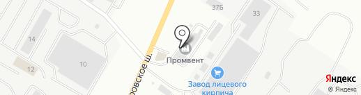 Саранский завод лицевого кирпича на карте Саранска
