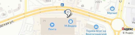 Кристалл-Лефортово на карте Саранска