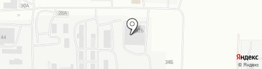 Масис на карте Саранска
