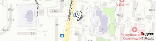 Дилижан на карте Саранска