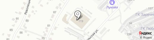 Волгоснаб на карте Саранска