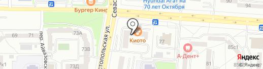 АКБ Экспресс-Волга на карте Саранска