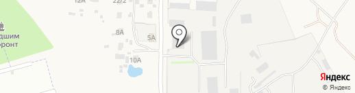 Дорожно-строительное управление №1 на карте Чемодановки