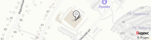 КиноПаркинг на карте Саранска
