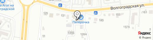 Дружба на карте Саранска