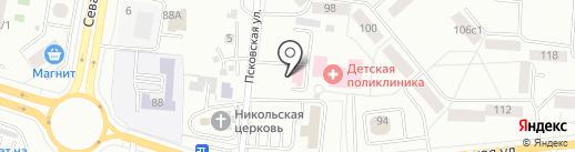 Станция скорой медицинской помощи на карте Саранска