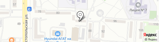CARTZAVOD на карте Саранска