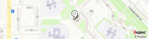 Администрация Октябрьского района на карте Саранска