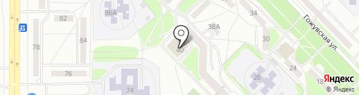 ЗАГС Октябрьского района на карте Саранска