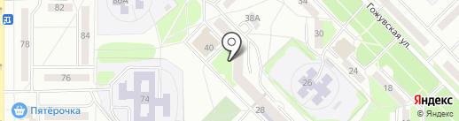 Библиотека им. П.С. Кириллова на карте Саранска