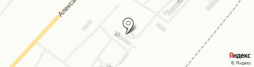 Кузнеца Мордовии на карте Саранска