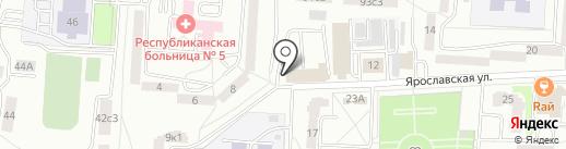 Альт на карте Саранска