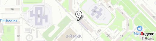 Центр детского творчества №1 на карте Саранска