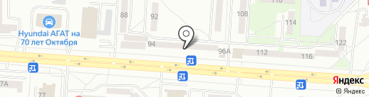 Линзочки на карте Саранска