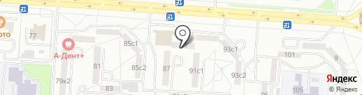 БАЛАНС на карте Саранска
