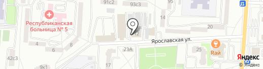 Мордовский республиканский центр контроля качества и сертификации лекарственных средств на карте Саранска