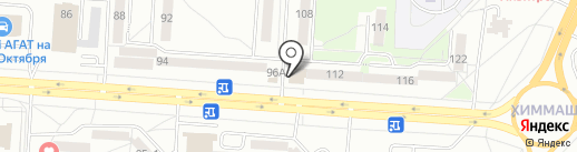 Город`ОК на карте Саранска
