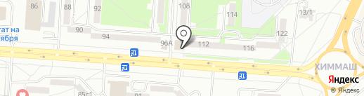 Цветочный магазин на карте Саранска