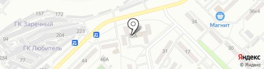 Октябрьский межрайонный следственный отдел на карте Саранска