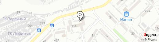 Талан на карте Саранска