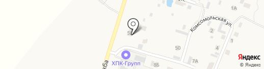 Пилорама на карте Чемодановки